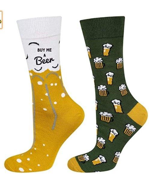 idee regalo uomo 10 euro calzini birra