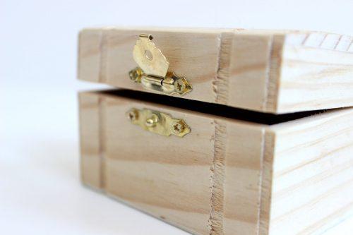 scatola legno per pacchetti regali