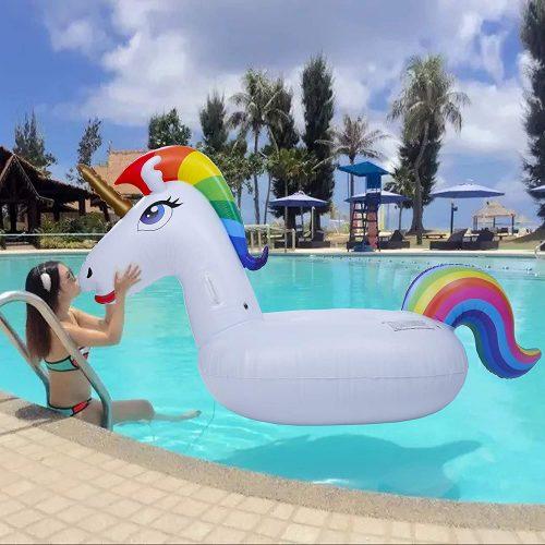 unicorno gonfiabili mare giganti